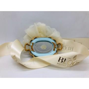 Collection Baroque Or/Bleu